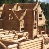 строительство из оцилиндрованных бревен